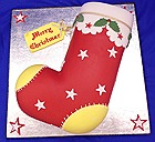 Christmas Stocking Cake