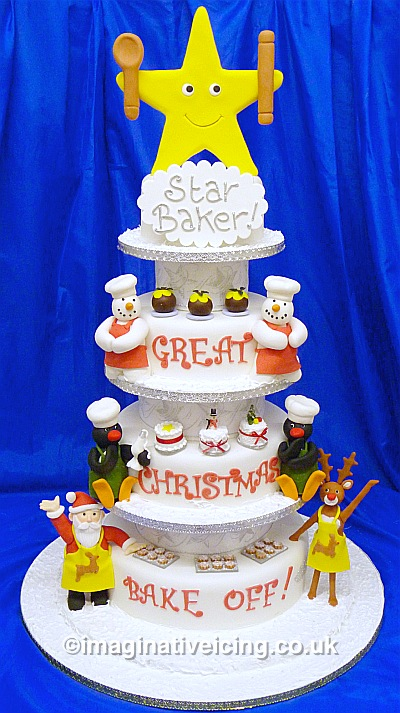 Christmas Cakes, Wedding & Celebration Cakes made to order... click here for more ideas and information