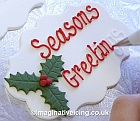 Seasons Greetings from Imaginative Icing.co.uk