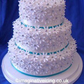 Daisy Fantaisy Wedding Cake