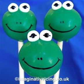 froggy cakepops
