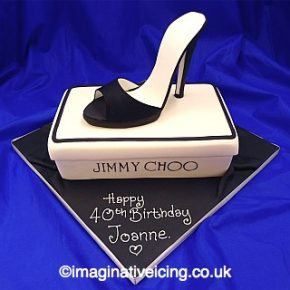 Stiletto High Heel Shoe Birthday Cake