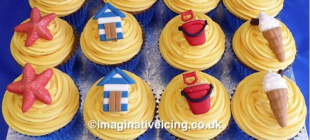 Traditional British Seaside Resort Cupcakes