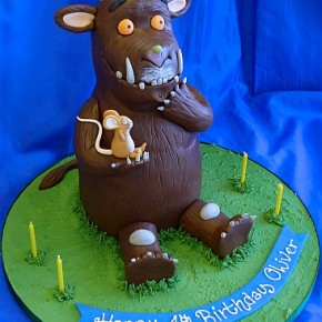3D Gruffallo Birthday Cake