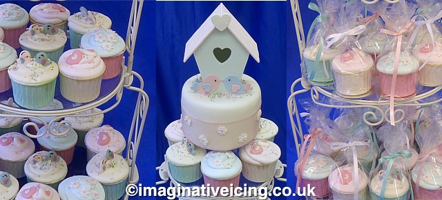 A Little Birdhouse in Your Soul - Wedding Cake