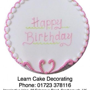 Cake Decorating Help,  Advice and Learning opportunities...