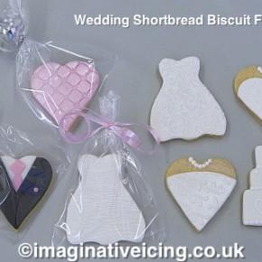 Wedding Shortbread Biscuit Favours