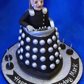 Davros - Creator of the Daleks - 3D Birthday Cake - Dr Who