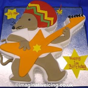 Rastamouse Birthday Cake