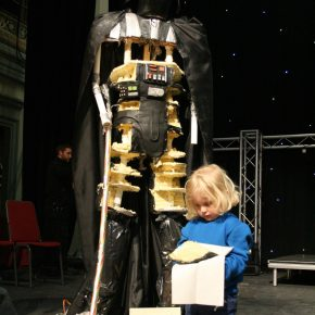 Darth Vader Cake - 7foot tall