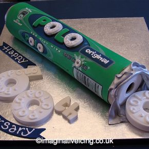 Polo Mints - The Mint with the Hole - 60th Anniversary Cake