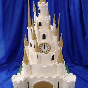 The Princes' Castle Wedding Cake