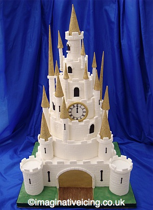 The Princes Castle Wedding Cake Imaginative Icing Cakes
