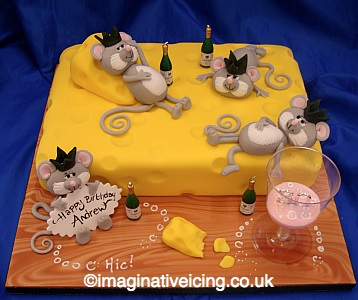 Mice and Cheese Birthday Party