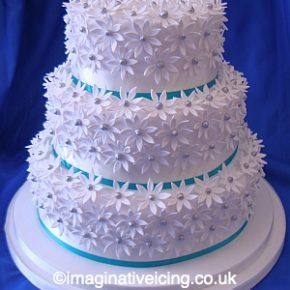 Daisy Fantaisy Wedding Cake