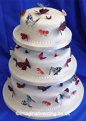 Butterfly Wedding Cake Imaginative Icing Cakes