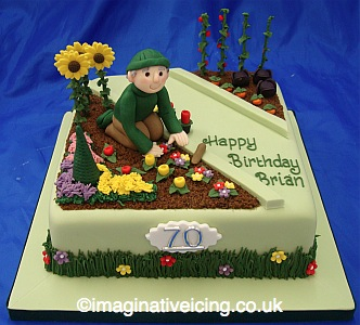 Gardener Birthday Cake Imaginative Icing Cakes