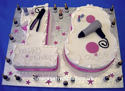 Awe Inspiring Number 18 Birthday Cake Imaginative Icing Cakes Scarborough Funny Birthday Cards Online Elaedamsfinfo