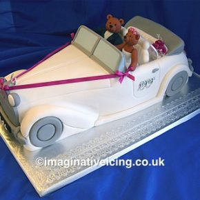 Wedding Car - Wedding Cake