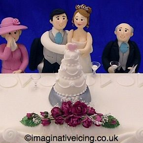 Wedding Cake Top Table