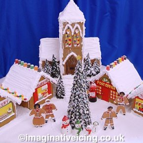 Gingerbread Christmas Village