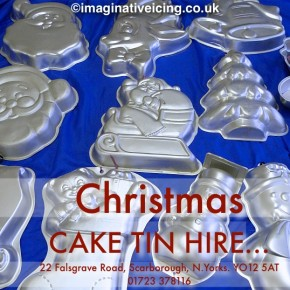 Christmas Cake Tin Hire Available