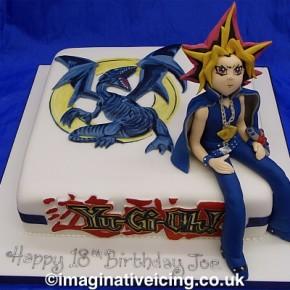 Yu-Gi-Oh Birthday Cake