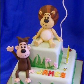 Raa Raa the Noisy Lion Birthday Cake