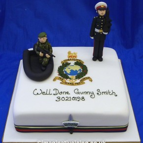 Royal Marines Commando Passing Out Cake
