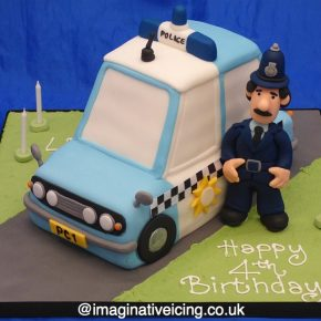 Postman Pat Policeman Cake - Constable Selby