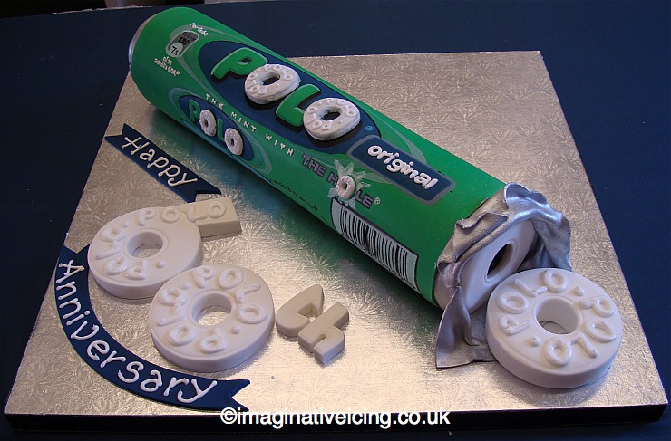 Polo Mints 3d corporate cake - 60th Anniversary