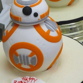 BB-8 Droid 3D Birthday Cake