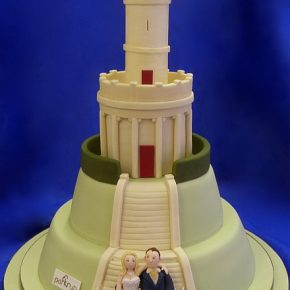 Locke Park Tower Wedding Cake