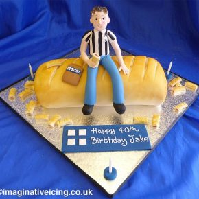 Birthday cake for a Greggs Sausage Roll enthusiast