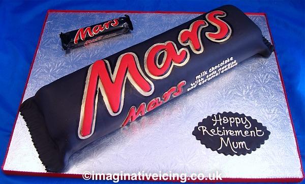 Supersized Mars Bar Celebration Cake