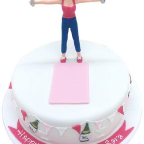 Keeping Fit at 50 Birthday Cake